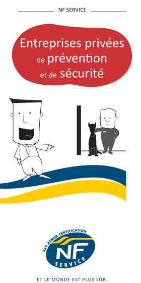 Marque NF Service Entreprises privées de prévention et de sécurité