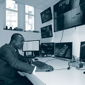 Surveillance générale du site